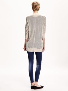 Open-Knit Cocoon Cardi for Women   Old Navy