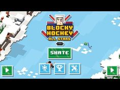 Blocky Hockey All-Stars Gameplay - Free On Android & iOS