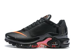 check out ec1cc db0ba Nike Air Max Plus Tn Ultra SE AQ0242-ID3 Chaussures Nike Basket Noir Rose  Pas