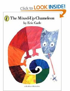 The Mixed-up Chameleon (Picture Puffin): Amazon.co.uk: Eric Carle: Books
