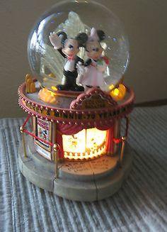 Rare Disney Anniversary snow globe