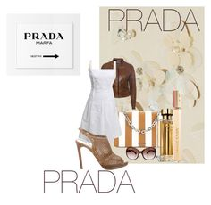 """Untitled #259"" by melissa-mcvey-courtemanche on Polyvore featuring Prada"