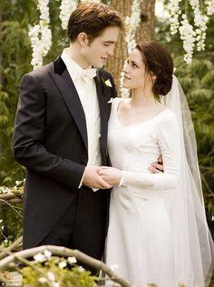 "Kristen Stewart as Bella Swan in ""The Twilight Saga: Breaking Dawn"" - Designed by Carolina Herrera"
