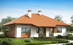 These single floor houses under 130 square meters feature fine architecture, while offering plenty of space inside for family activities. Square Meter, Design Case, House Front, Family Activities, Tiny House, Gazebo, Outdoor Structures, Flooring, Country