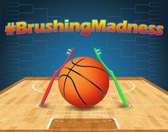 While everyone else is watching basketball around here we've got #BrushingMadness! - Peckosh Pediatric Dentistry | #Dubuque | #IA | http://ift.tt/1JCMLzu