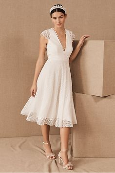 Apr 2020 - Sau Lee Dolores Dress by BHLDN in White Size: Women's Dresses at Anthropologie Elopement Wedding Dresses, Courthouse Wedding Dress, Black Wedding Dresses, Elope Wedding, Short Dresses, Unique Dresses, Bhldn Wedding, Wedding Shoes, Wedding Gowns