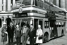 19 old photos of Nottingham from every year in the Nottingham City, Good Old Times, Every Year, Bus Coach, Train Station, Coaches, Taxi, Buses, Family History