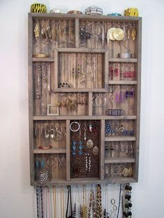 Closet Jewelry Cabinet I can imagine this with a full length