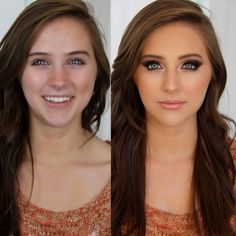 Learn how to make your eyes really pop with these easy tips #promgirl #makeup #eyes