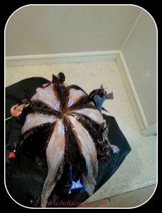 Técnica de molinete una tendencia de color en el cabello que ha arrasando con los degradados !! conoce el procedimiento paso a paso y manos a la obra!!