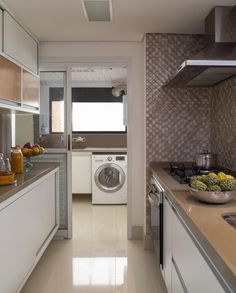 4 quirky kitchen-laundry room ideas for homes that struggle with Dirty Kitchen Design, Quirky Kitchen, Kitchen Room Design, Little Kitchen, Modern Kitchen Design, Home Decor Kitchen, Interior Design Kitchen, Home Kitchens, Dirty Kitchen Ideas