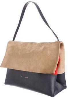 Céline Tricolor All Soft Bag
