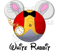 Wonderland+White+Rabbit+inspired+DIGITAL+by+SwirlyColorPixels,+$3.00