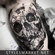Skull-Tatoo-Design