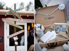 homemade signs #wedding