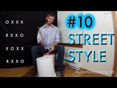 Street Style Bucket Drumming