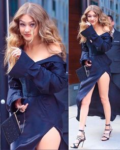 Gigi Hadid Gigi Hadid - Gigi Hadid Gigi Hadid You are in the right place about outfits party Here we offer you t - Gigi Hadid Looks, Style Gigi Hadid, Gigi Hadid Outfits, Gigi Hadid Dresses, Gigi Hadid Und Zayn, Gigi Hadid And Zayn Malik, Bella Gigi Hadid, Gigi Hadid Hair, Look Fashion