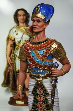Egypt Concept Art, Cleopatra, Captain Hat, Bangles, Dolls, Manga, Hats, Fashion, Egypt
