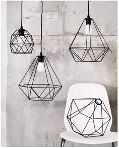 15 Beautiful Geometric Lamp Designs If you need to have a cool lamp which is not only for your home light but also perfect for decorating your home, you should choose the geometric lamp. As its name, this lamp is a unique lamp with the