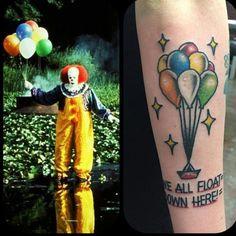 wraps around a bit! Third Stephen King tattoo and definitely not my last!