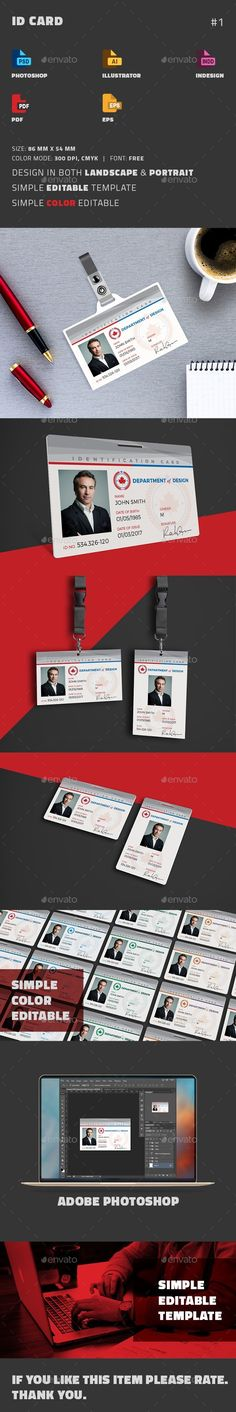 Telephoto Photography Company Business Cards Business cards - id card template