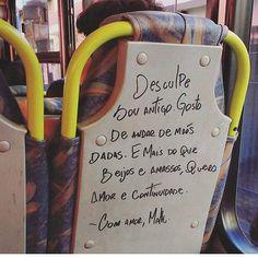 Chega um momento em que você não aguenta mais ficar sozinho, e busca alguém que possa retribuir todo o carinho que você está disposto a dar.  #cassiaeller #frasesdeamor  #mpb #musicaboa #musical1zando #legiaourbana #zackmagiezi #saudade #loshermanos #pitty #mpb #tiagoiorc #afeto #versos #poesia #poemas #trechos #frases #amor #reflexao #vozesdobrasil #musicabrasileira #musicaboa #music #musica  #frasesdeamor #frasedodia #precisavaescrever #positividade  #caetanoveloso #brasileirissimos