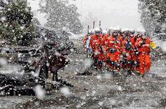 東日本大震災の被災地で活躍する消防隊 - 西野神社 社務日誌