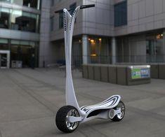 Le CT-S : un concept entre scooter et trottinette électrique