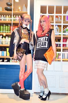 tumblr harajuku streetwear rockabilly punk