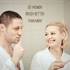 86% of women brush their teeth at least twice daily, while only 66% of men remember to brush twice-Survey.