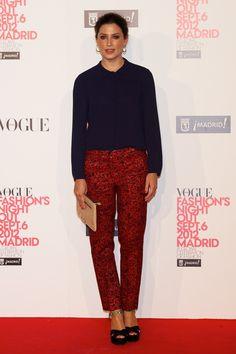 Bárbara Lennie en la Vogue Fashion Night Out Madrid 2012, 6 de septiembre de 2012