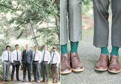 Emerald and gold camp-themed wedding | Photo by Christie Graham | Read more - http://www.100layercake.com/blog/?p=81274