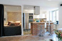 план двухкомнатной квартиры в скандинавском стиле - Поиск в Google
