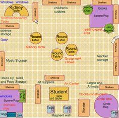 Preschool Classroom Layout 21st Century : / Classroom on Pinterest  Learning Spaces, 21st Century Classroom ...