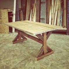 Trestle Table Lamon Luther
