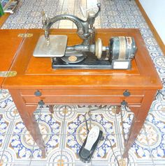 Willcox Gibbs Automatic Noiseless in RARE Cabinet Attachments Manual   eBay