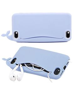 Cute Whale iPhone Case For iPhone 7 7 plus iphone 4 4S 5 5s SE 6 6s + Nice gift box 072301