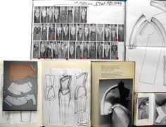 Fashion Sketchbook - fashion design process with fashion drawings, development & prototyping; fashion portfolio // Maria Lavigina