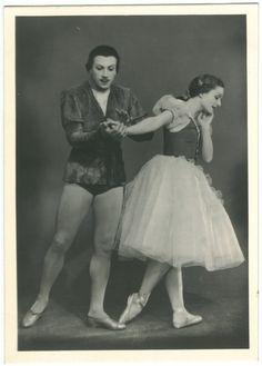 V. N.Tsygnadze & V. M. Chebukiani in 'Gisele'_Gatob; 69. Photo E. Z. Lesova…