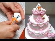 Baby Shower Cake. How To by CakesStepbyStep