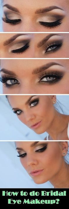 How to do bridal eye makeup ? Please visit our website @ http://rainbowloomsale.com:
