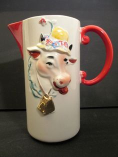 Regal China Old McDonald Farm Milk Pitcher --- Extremely Rare #RegalHull