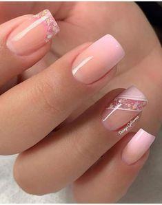 All Things Beauty, Cute Nails, Nail Art, How To Make, Finger Nails, Ideas, Simple Elegant Nails, Pretty Gel Nails, Short Nail Manicure