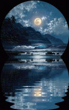 3 fases da lua animated gif 3777325 by epo on favim com lua de mel Moon Images, Moon Pictures, Nature Pictures, Beautiful Pictures, Good Night Gif, Good Night Moon, Good Night Image, Gif Bonito, Beau Gif