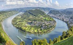Boppard, one of Germany's best preserved medieval towns