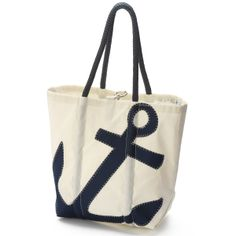 Sperry Top-Sider Sailcloth Medium Tote - These Recycled Sailcloth Tote Bags are Custom Made Exclusively for Sperry Top-Sider. #sperrytopsider #sperrys