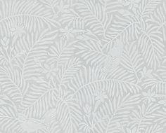 Calico Birds Slate wallpaper by Sanderson