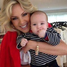 Anna Lucia Almeida Barreto - Google+ Ana Hickman e seu lindo filhinho
