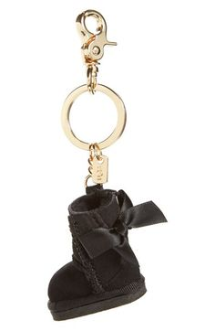 UGG® UGG® Australia 'Bailey Bow Boot' Genuine Shearling Bag Charm available at #Nordstrom