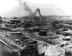 Standard Oil Co.'s No. 1 Refinery in Cleveland when the city was the center of the world petroleum industry, 1889